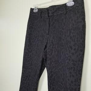 New Direction cheetah print jeans